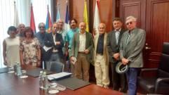 Reunión con Presidente del Cabildo Actual