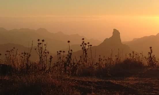 Gran Canaria - Vistas del Roque Roque Nublo. Autor Santiago Hernández